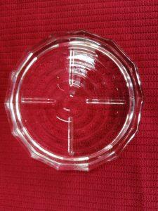 A rebord en verre